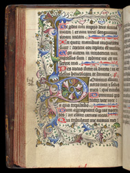 Psalm 26, in a Psalter and Prayerbook